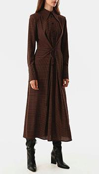 Платье-рубашка Shako в клетку, фото