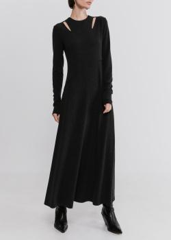 Длинное платье Shako темно-серого цвета, фото