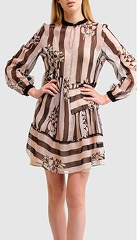 Платье-рубашка Twin-Set с цветочным принтом, фото