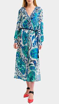 Платье Twin-Set с растительным принтом, фото