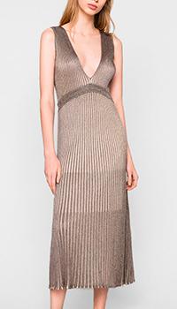 Вечернее платье Twin-Set серебристого цвета, фото