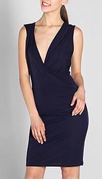 Платье Stella McCartney черного цвета с глубоким вырезом, фото