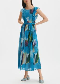 Голубое платье Penny Black с крупными цветами, фото