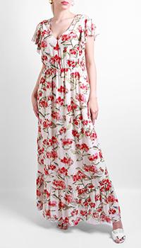 Длинное платье Patrizia Pepe с цветочным принтом, фото