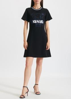 Платье-футболка Kenzo приталенного кроя, фото