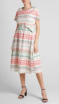Платье Riani в разноцветную полоску, фото