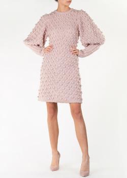 Трикотажное платье Zimmermann с пышными рукавами, фото