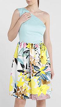 Повседневное платье Cavalli Class с открытым плечом, фото
