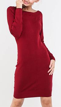 Платье-футляр Marciano бордового цвета, фото