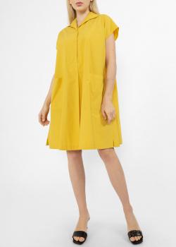 Желтое платье Max Mara Weekend свободного кроя, фото
