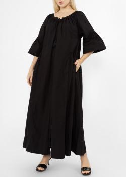 Длинное платье Max Mara Weekend черного цвета, фото