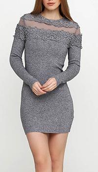 Трикотажное платье Cashmere Company с ажуром, фото
