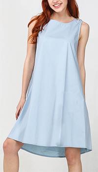 Голубое платье Blugirl Blumarine до колен, фото