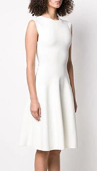 Белое платье Stella McCartney с пышной юбкой, фото