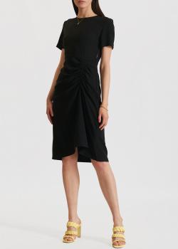Платье со сборкой Miss Sixty черного цвета, фото