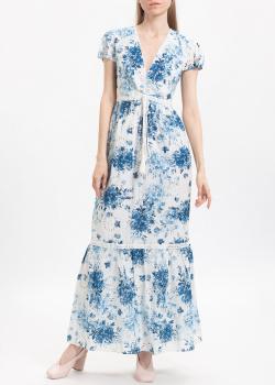 Длинное платье Twin-Set My Twin с цветочным принтом и вышивкой, фото