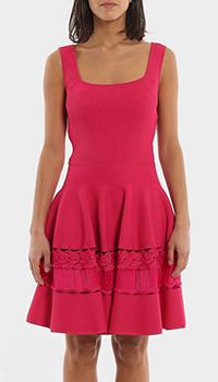 Платье Alexander McQueen розового цвета, фото
