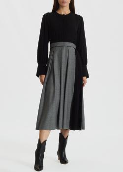 Платье-миди Max Mara из вирджинской шерсти, фото