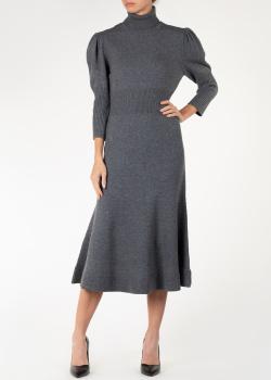 Кашемировое платье Michael Kors средней длины, фото