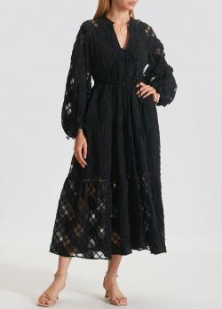 Платье-миди Beatrice.B с прозрачными вставками, фото