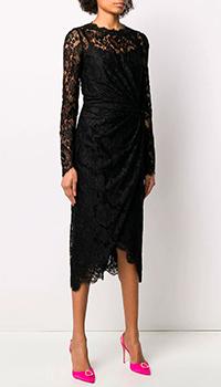 Кружевное платье Dolce&Gabbana с длинным рукавом, фото