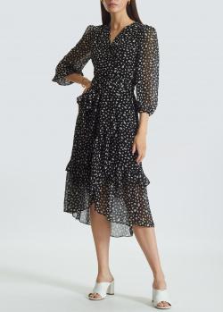 Легкое платье-миди Miss Sixty с принтом в виде губ, фото