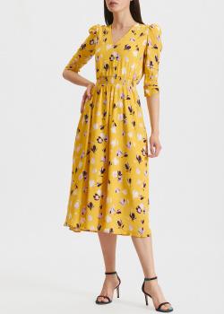 Желтое платье Miss Sixty с цветочным принтом, фото