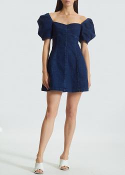Джинсовое короткое платье Miss Sixty с рукавами-фонариками, фото