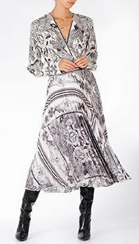 Платье-рубашка Riani с узором из цветов, фото