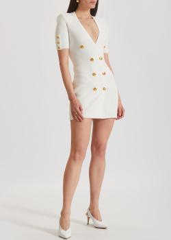 Трикотажное платье-пиджак Elisabetta Franchi с коротким рукавом, фото