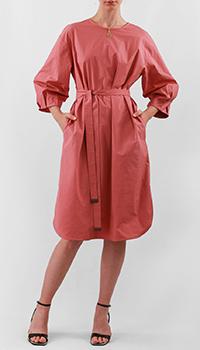 Розовое платье Peserico с разрезами по бокам, фото