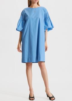 Голубое платье Max Mara Weekend свободного кроя, фото