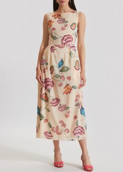 Длинное платье Luisa Cerano с цветочным принтом, фото