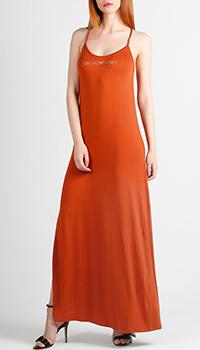 Трикотажное платье Emporio Armani со стразами, фото