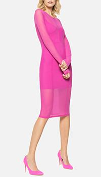 Платье-миди Patrizia Pepe розового цвета, фото
