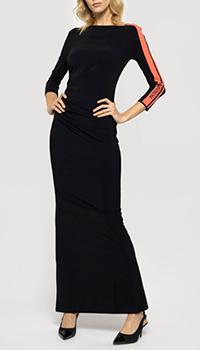 Черное платье Patrizia Pepe в пол, фото