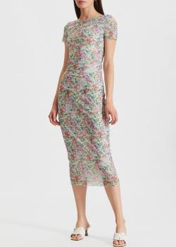 Платье-миди Patrizia Pepe с открытой спиной, фото