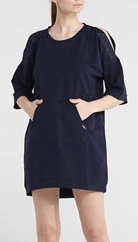 Платье-туника Liu Jo темно-синего цвета, фото