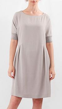 Платье до колен Fabiana Filippi с коротким рукавом, фото