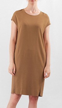 Платье Fabiana Filippi горчичного цвета, фото