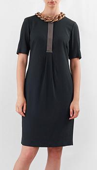 Платье Fabiana Filippi темно-синего цвета, фото