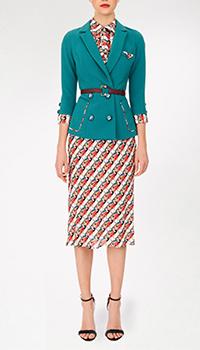 Платье Elisabetta Franchi с рукавами три четверти, фото