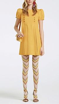 Платье Elisabetta Franchi желтого цвета, фото