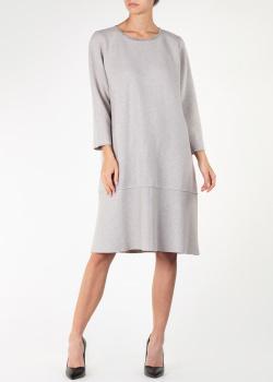 Трикотажное платье Fabiana Filippi с укороченными рукавами, фото