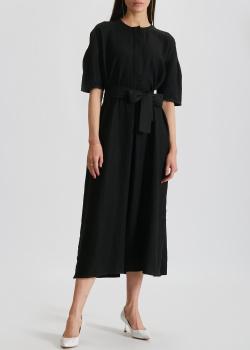 Льняное платье-миди Max Mara Leisure Arda со съемным поясом, фото
