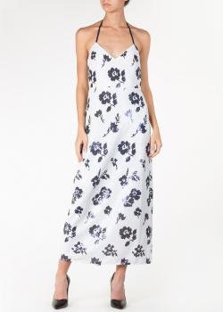 Платье с пайетками Self-Portrait с цветочным узором, фото