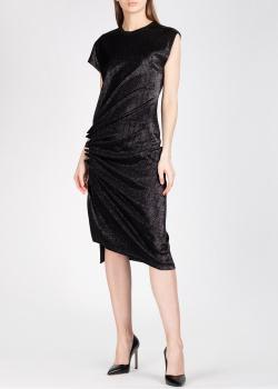 Платье миди Paco Rabanne с люрексовой нитью, фото