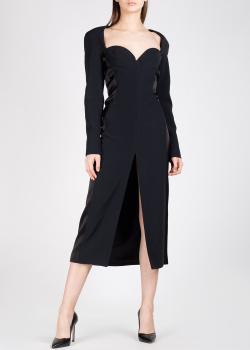 Платье-футляр David Koma черного цвета, фото