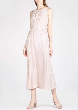 Шелковое платье Brock Collection с кружевом, фото