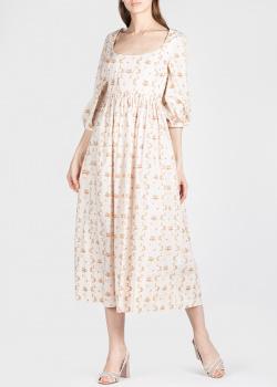 Платье-миди Brock Collection с цветочным принтом, фото